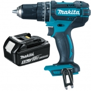 Makita DHP482Z 18V LXT 2 Speed Combi Drill with 5.0Ah Battery