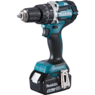 Makita DHP484 18V LXT Brusless Combi Drill with 5.0Ah Battery