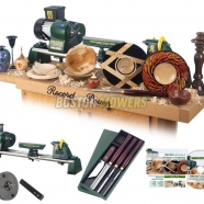 Record DML18SH Woodturning Starter Package Lincolnshire