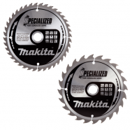 Makita B-49317 165 x 20mm Circular Saw Blade Twin Pack (B-09173 & (B-09248) Boston Lincolnshire
